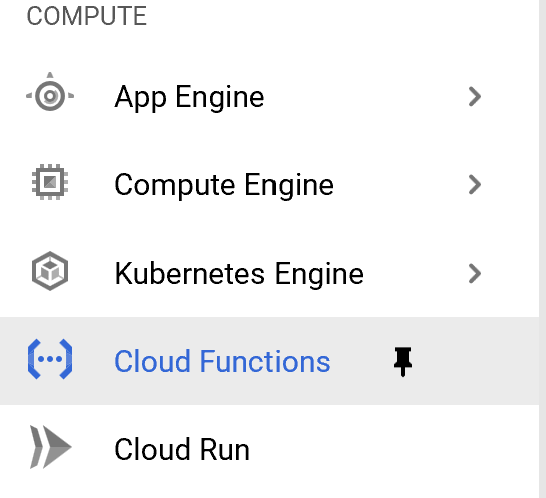 New Cloud Function